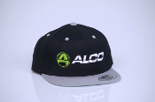 Alco Flat Bill Hat Black